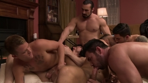 IconMale.com - 18 yr old Billy Santoro bends over