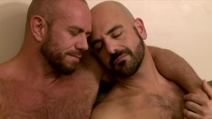 IconMale.com: Hairy Adam Russo together with Matt Stevens