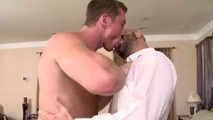 Icon Male: Hairy Adam Russo enjoys hard nailining HD
