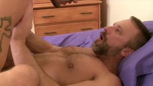 IconMale - Dirk Caber with Ty Roderick anal fucks